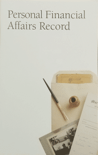 Personal Financial Affairs Record